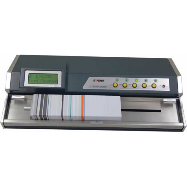 JC-3200A Desktop Automatic Card Counter 220 or 110 vac