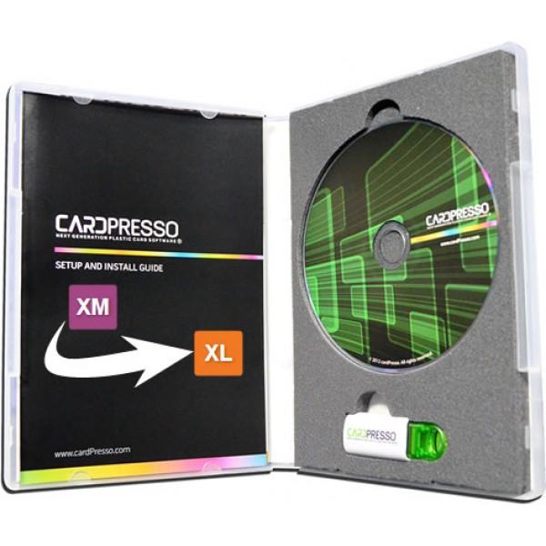cardPresso XM to XL ID Card Software  (Upgrade)